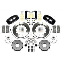 F-150 SVT Lightning Wilwood AERO6 Front Big Brake Kit  - Black (99-04)