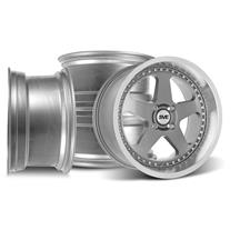 SVE Mustang Saleen SC Style Wheel Kit - 18x8.5/10 - Gun Metal (79-93)