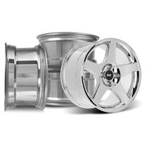 Mustang SVE 2003 Cobra Style Wheel Kit - 17X9/10  - Chrome (79-93)