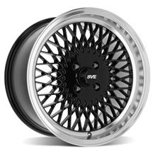 SVE Mustang Mesh Wheel - 17x9 - Gloss Black  (79-93)