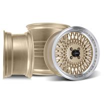 Mustang SVE Mesh Wheel Kit - 17x8/9  - Classic Gold (79-93)