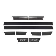 Mustang GT 10-Piece Body Side Molding Kit (85-86)
