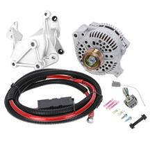 SVE Mustang 200 Amp Alternator & Bracket Full Upgrade Kit (86-93) 5.0/5.8