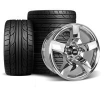 F-150 SVT Lightning SVE Gen.1 2001 Style Lightning Wheel & Tire Kit  - 18x9.5 - Chrome - NT555 G...