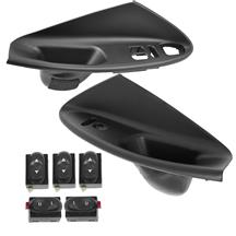 Mustang Door Panel Insert and Switch Kit  - Coupe (94-04)