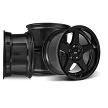 Mustang SVE 2003 Cobra Style Wheel Kit - 17x9/10.5  - Black - Deep Dish (94-04)