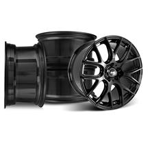 Mustang SVE Drift Wheel Kit - 18x9/10  - Gloss Black (94-04)