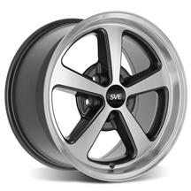 SVE Mustang 2003-2004 Mach 1 Style Wheel - 17x9 - Machined (94-04)