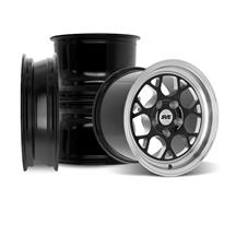 SVE Mustang Drag Comp Wheel Kit - 17x4.5/15x10  - Gloss Black (94-04)