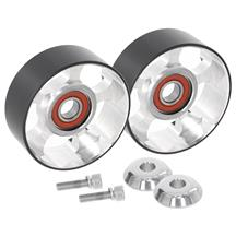 Metco Mustang Smooth Idler Pulley Kit   - 100mm (03-04)