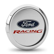 Ford Racing Center Cap  - Brushed Aluminum