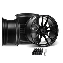 Velgen Mustang VF5 Wheel Kit - 20x10/11  - Satin Black (05-14)