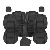 Mustang Katzkin Factory Style Leather Seat Upholstery - Non Side-Impact Airbag - Black (05-09) -...