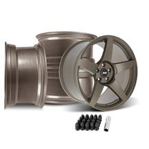 SVE Mustang R355 Wheel Kit - 19x10/11  - Satin Bronze (05-14)
