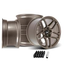Mustang SVE X500 Wheel Kit - 19x10/11  - Satin Bronze (05-14)