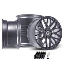 Mustang Downforce DC10 Wheel Kit - 20x9/10 - Arctic Forged (05-14)