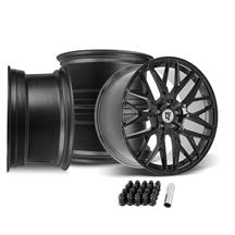 Mustang Downforce DC10 Wheel Kit - 20x9/10 - Gloss Black  (05-14)