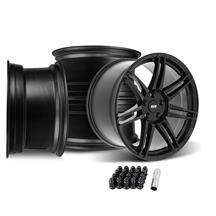 Mustang SVE R325 Wheel Kit - 19x10/11  - Gloss Black (05-14)