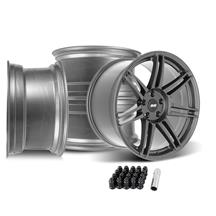 Mustang SVE R325 Wheel Kit - 19x10/11  - Gloss Graphite (05-14)