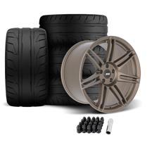 Mustang SVE R325 Wheel & Tire Kit - 19x10/11  - Satin Bronze (05-14)
