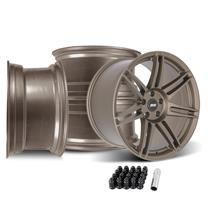 SVE Mustang R325 Wheel Kit - 19x10/11  - Satin Bronze (05-14)