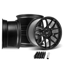 Mustang SVE R357 Wheel Kit - 19x10/11  - Gloss Black (05-14)