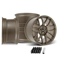 Mustang SVE R357 Wheel Kit - 19x10/11  - Satin Bronze (05-14)