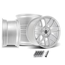 Mustang SVE R357 Wheel Kit - 19x10/11  - Gloss Silver (05-14)