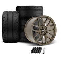 Mustang SVE R357 Wheel & Tire Kit - 19x10/11  - Satin Bronze (05-14)