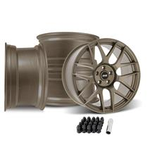 Mustang SVE R357 Wheel Kit - 19x10  - Satin Bronze (05-14)