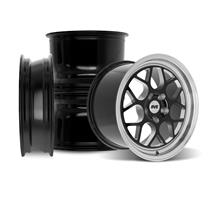 SVE Mustang Drag Comp Wheel Kit - 17x4.5/17x10  - Gloss Black (05-14)