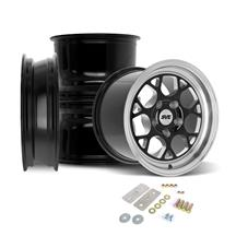 SVE Mustang Drag Comp Wheel Kit - 18x5/15x10  - Gloss Black (05-14)