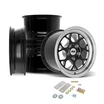 SVE Mustang Drag Comp Wheel Kit - 17x4.5/15x10  - Gloss Black (05-14)