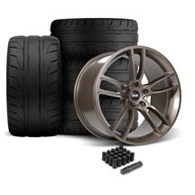 Mustang SVE GT7 Wheel & Tire Kit - 19x10/11  - Bronze Metallic - NT05 Tires (05-14)