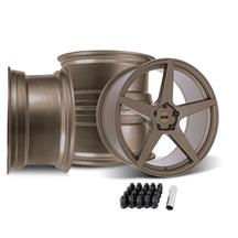 SVE Mustang XS5 Wheel Kit - 20x8.5/10  - Ceramic Bronze (05-14)