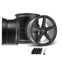 SVE Mustang XS5 Wheel Kit - 20x8.5/10  - Tuxedo Black (05-14)