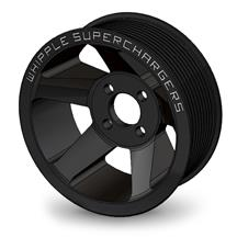 "Mustang Whipple 3.25"" Supercharger Pulley  - 6 Rib (11-19)"