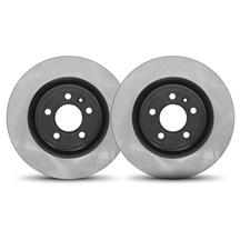 "Mustang Front Brake Rotor Pair - 15""  - High Carbon Steel (13-14)"