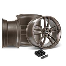 Mustang SVE GT7 Wheel Kit - 19x10  - Bronze Metallic (15-19)