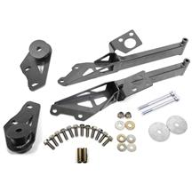 Mustang BMR IRS Subframe Support Brace System - Black Hammertone (15-19)