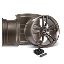 Mustang SVE GT7 Wheel Kit - 19x10/11  - Bronze Metallic (15-18)