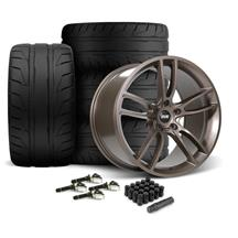 Mustang SVE GT7 Wheel & Tire Kit - 19x10/11  - Bronze Metallic - NT05 Tires (15-19)