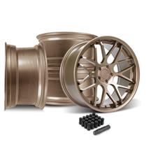 Mustang Downforce Wheel Kit - 20x8.5/10  - Satin Bronze (15-19)