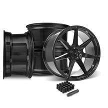 Mustang SVE XS7 Wheel Kit - 20x10  - Tuxedo Black (15-20)
