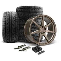 Mustang SVE XS7 Wheel & Tire Kit - 20x10  - Ceramic Bronze (15-20)