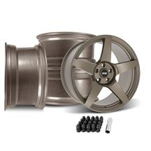 Mustang SVE R355 Wheel Kit - 19x10  - Satin Bronze (15-20)