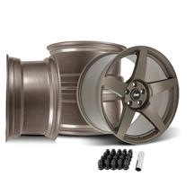 SVE Mustang R355 Wheel Kit - 19x10/11  - Satin Bronze (15-20)