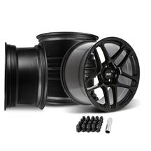 Mustang SVE X500 Wheel Kit - 19x10/11  - Gloss Black (15-20)