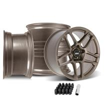 Mustang SVE X500 Wheel Kit - 19x10  - Satin Bronze (15-20)