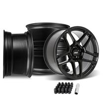 Mustang SVE X500 Wheel Kit - 19x10  - Gloss Black (15-20)